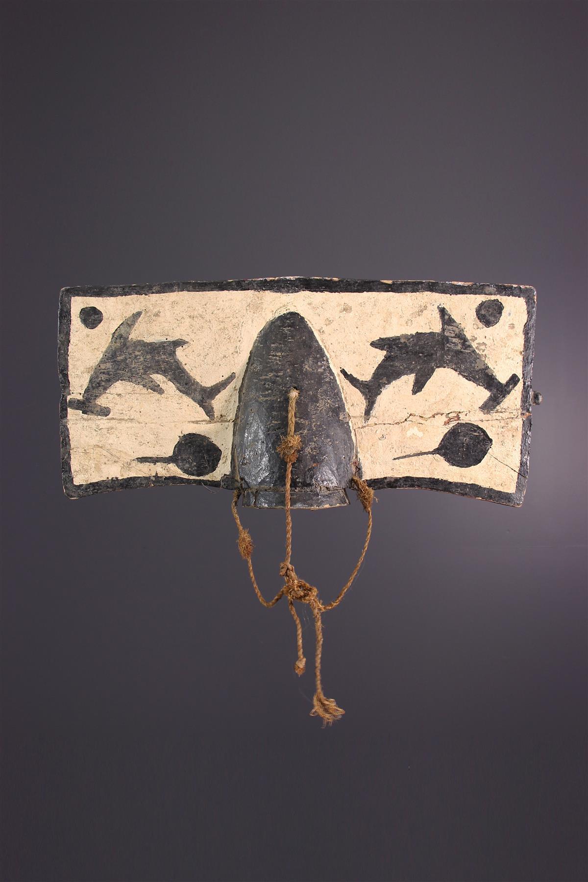Bidjogo mask - Tribal art