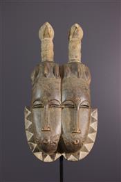 Masque africainTwins mask