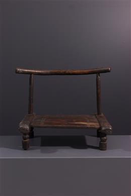 Tribal art - Dan seat