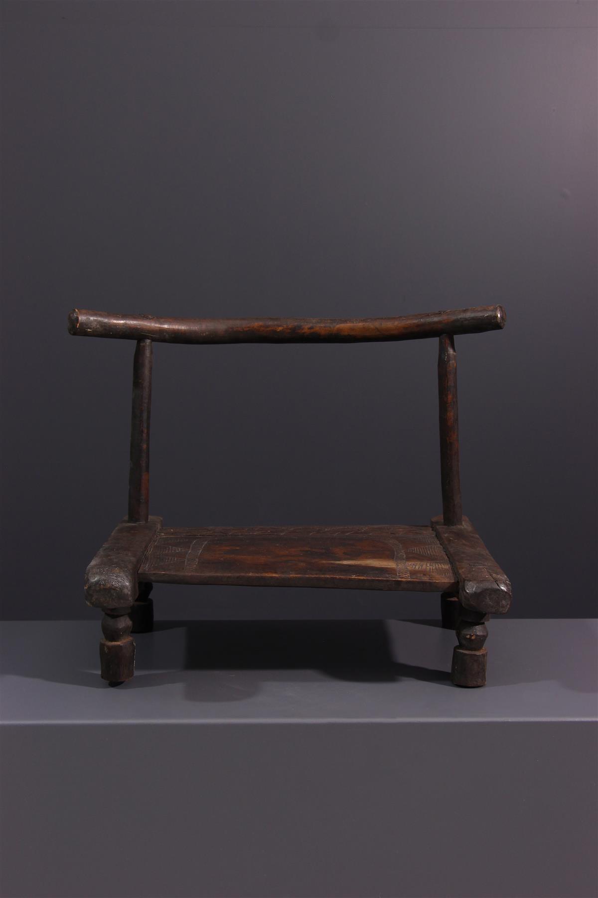 Dan stool - Tribal art