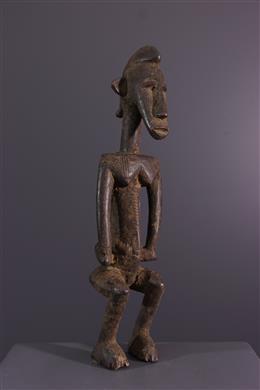 Senoufo maternity statuette