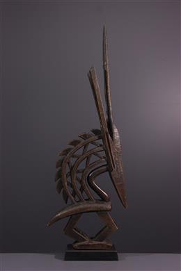 Tribal art - Ci Wara Kun Bamana crest mask