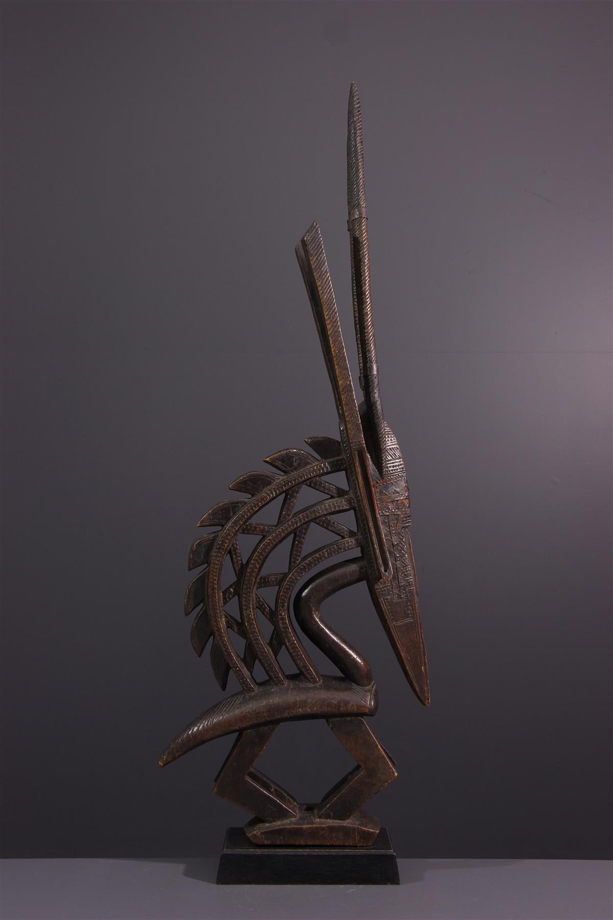 Bambara mask - Tribal art