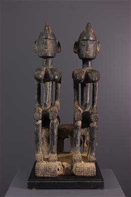 Dogon couple of ancestors