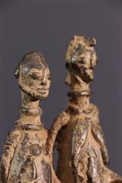 bronze africainDogon figure