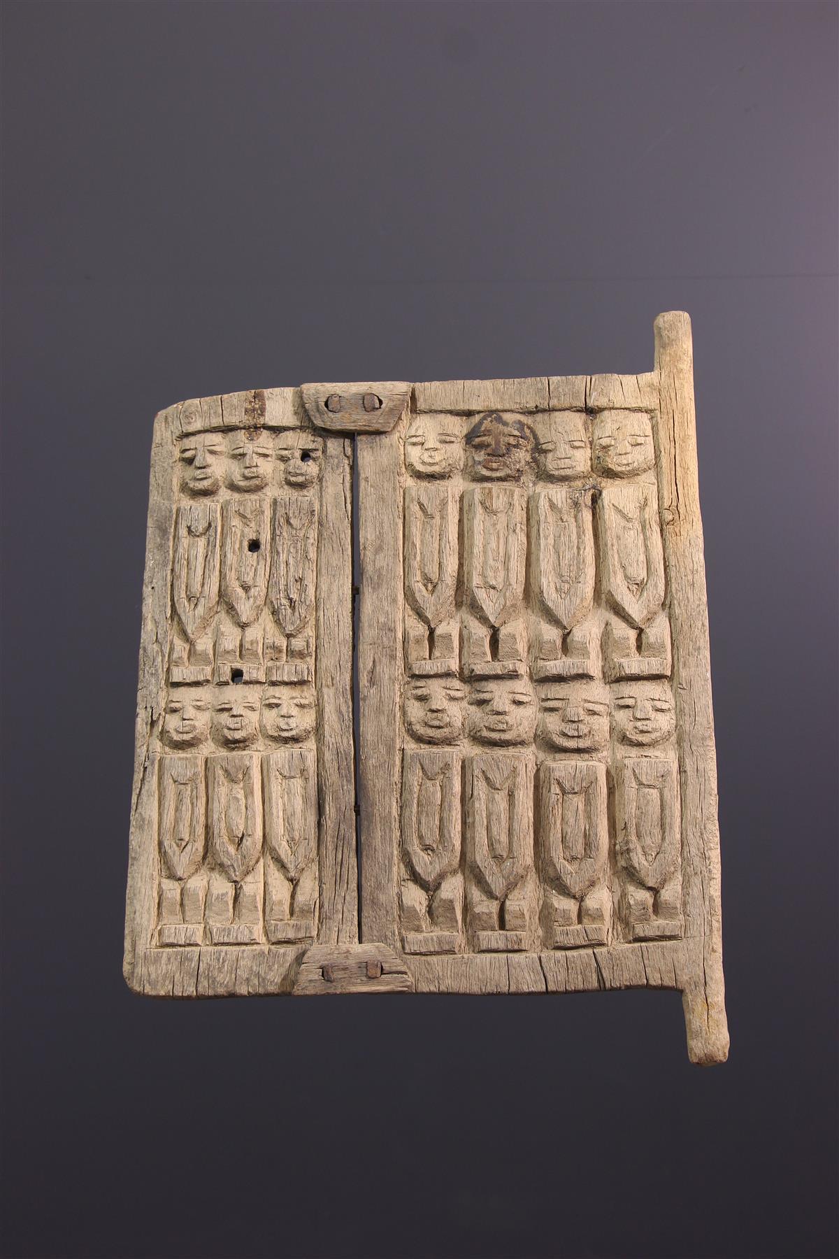 Dogon shutter - Tribal art