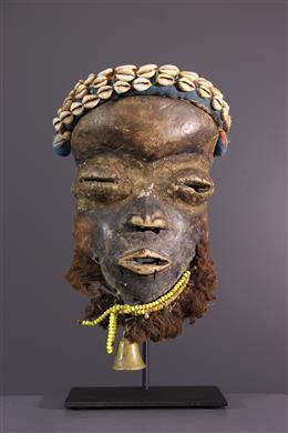 Tribal art - Wobe Dan musician mask