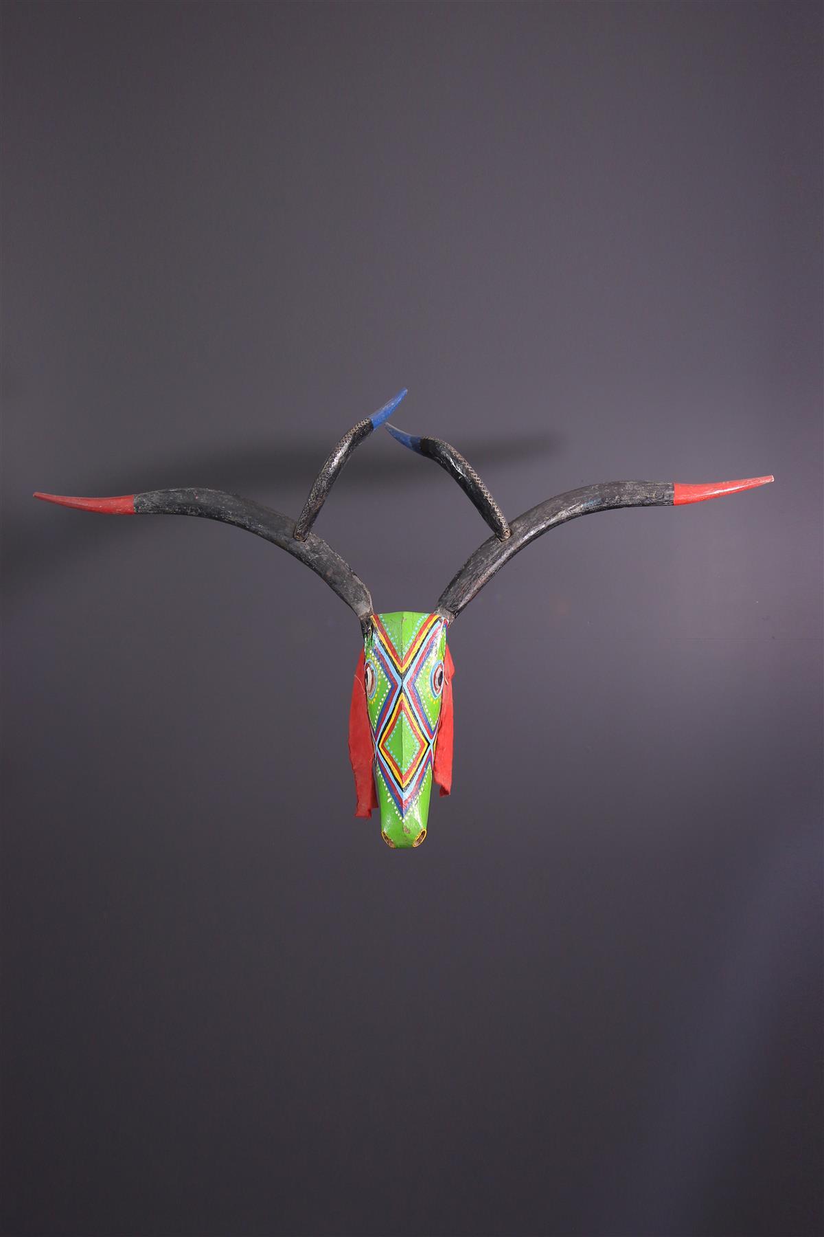 Bozo mask - Tribal art