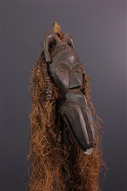 Tribal art - Dan mask-singer with beak