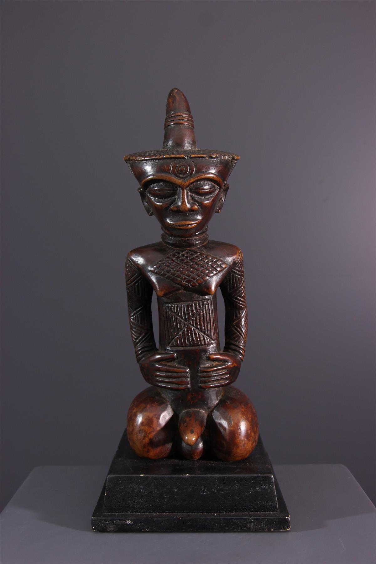 Dengese figure - Tribal art