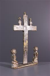 bronze africainKongo Crucifix