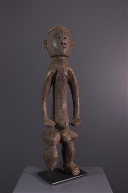 Tribal art - Montol male figure of Komtin