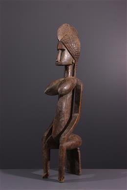 Tribal art - Figure of Bambara Queen Guandoudou