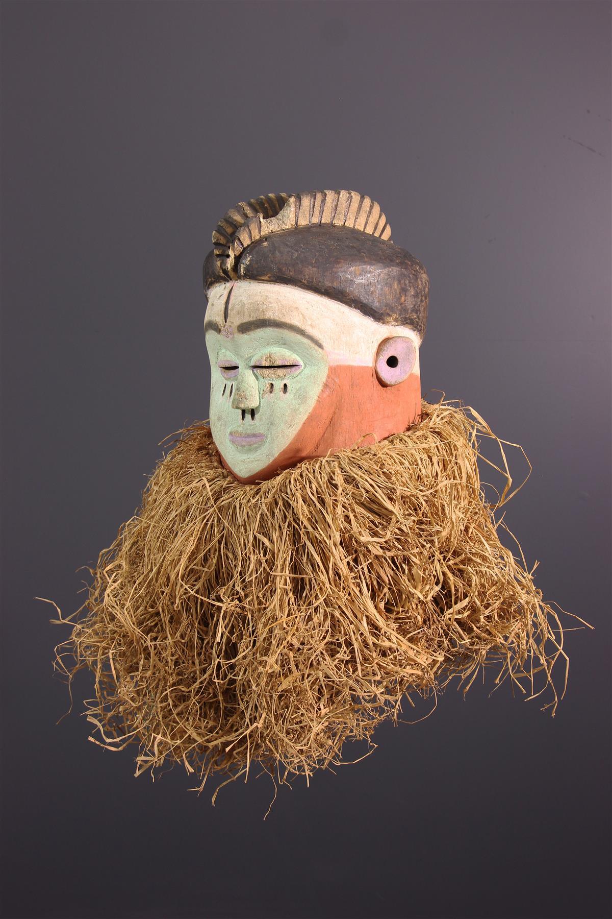 Mbala mask - Tribal art