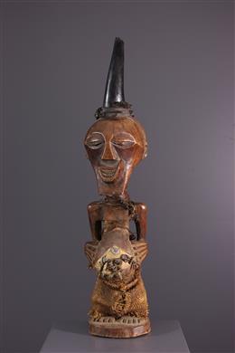 Songye Kalebwe Nkishi fetish statue