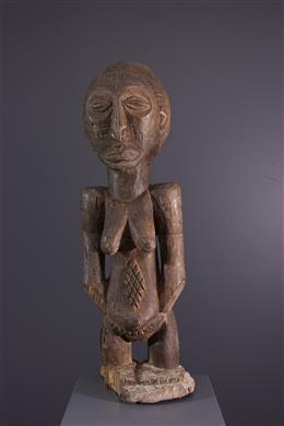 Tribal art - Female figure Hemba Singiti