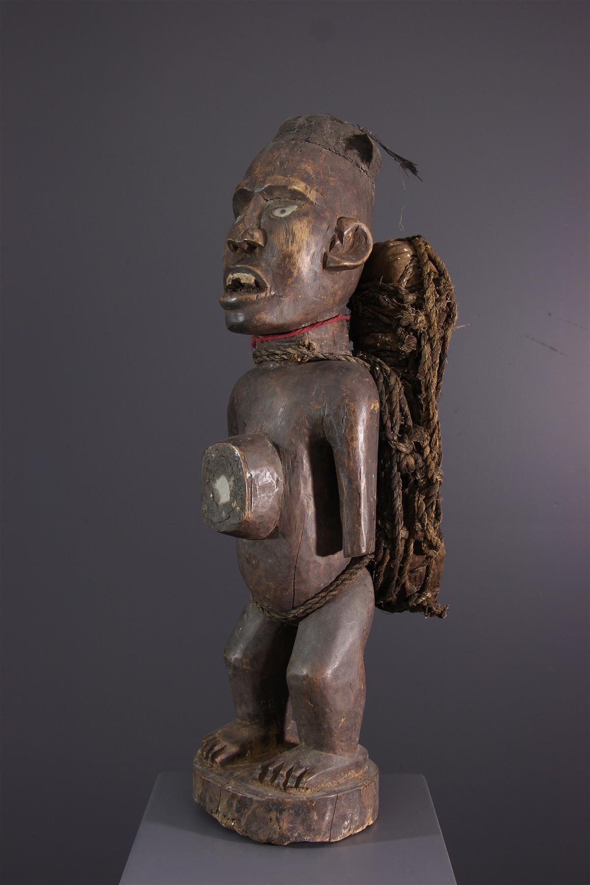 Kongo statue - Tribal art
