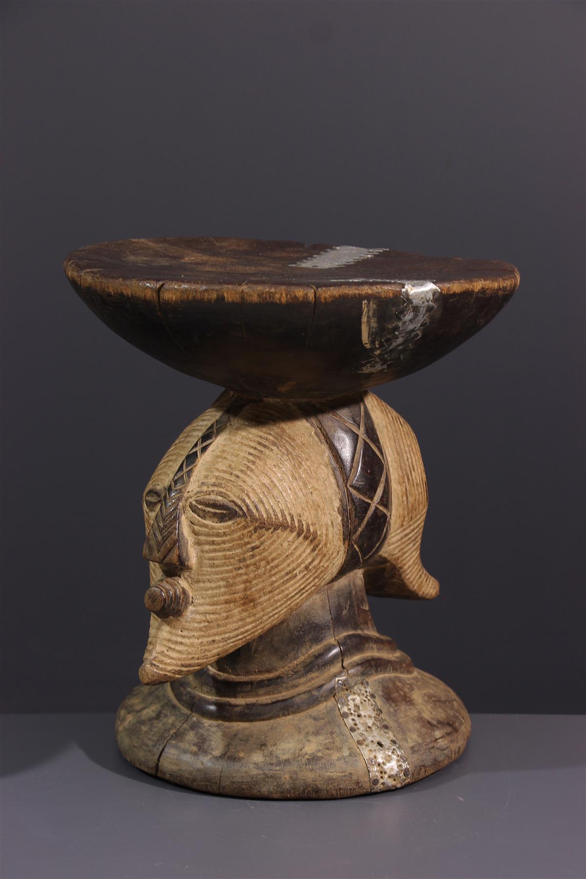Songye stool - Tribal art