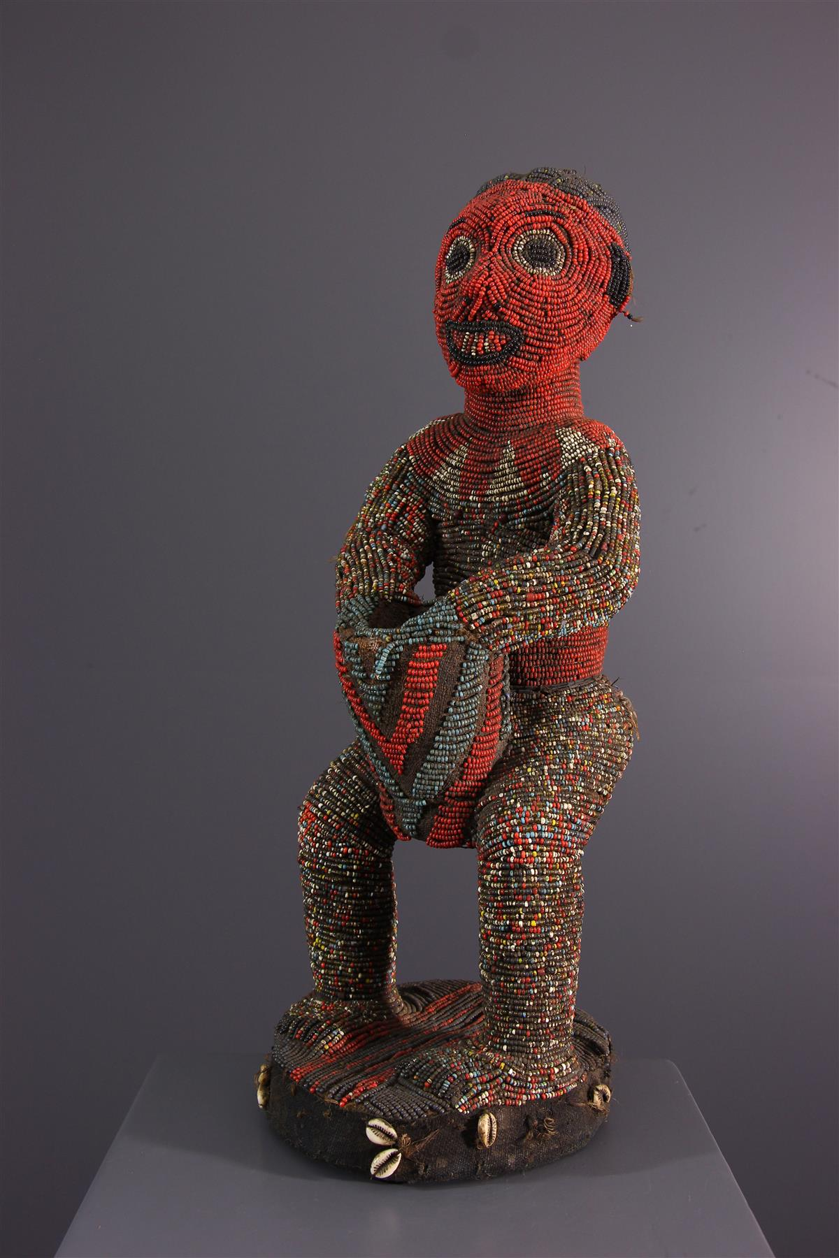 Bamileke statue - Tribal art