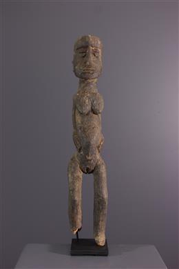 Tribal art - Female figure Lobi Bateba