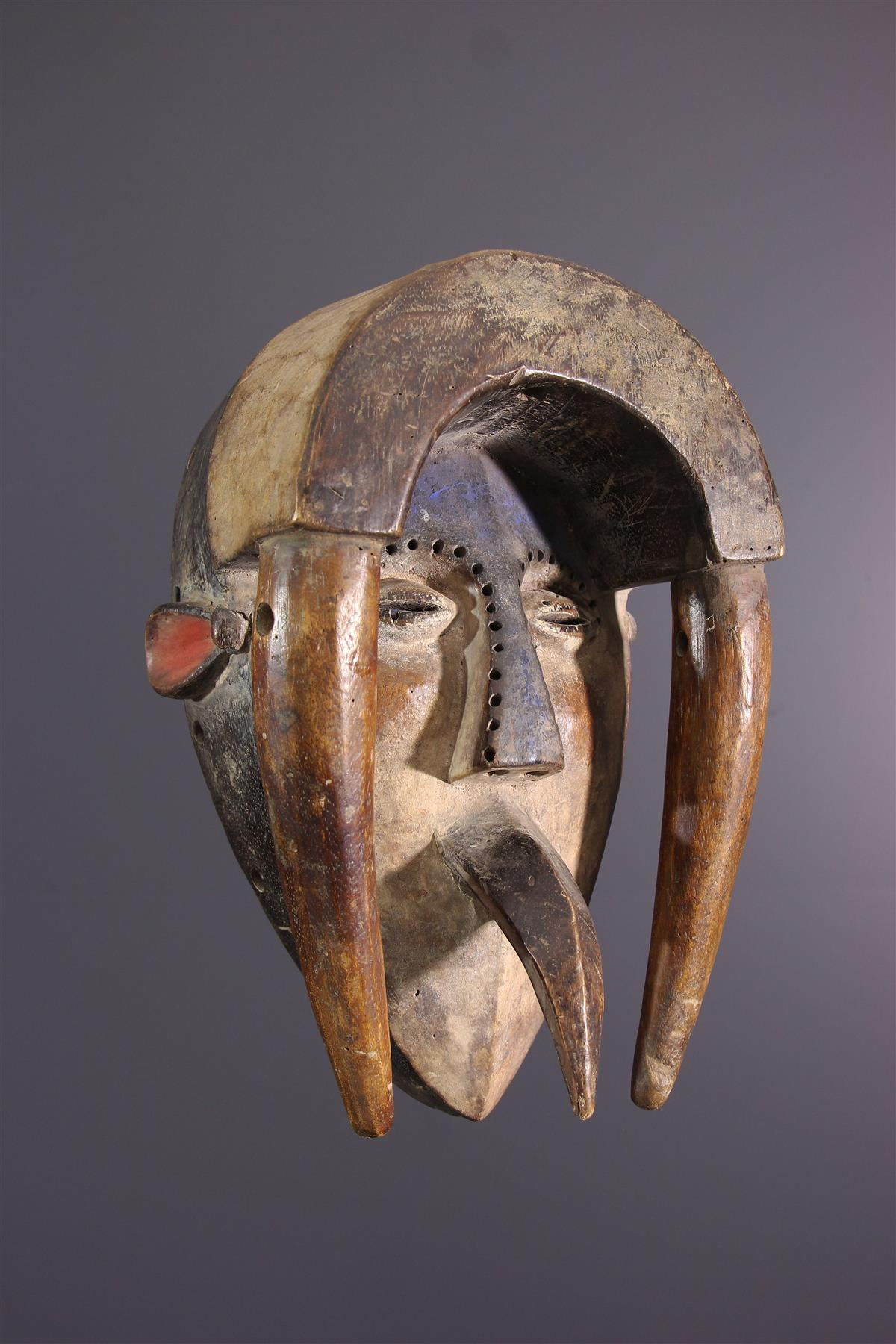 Ligbi mask - Tribal art