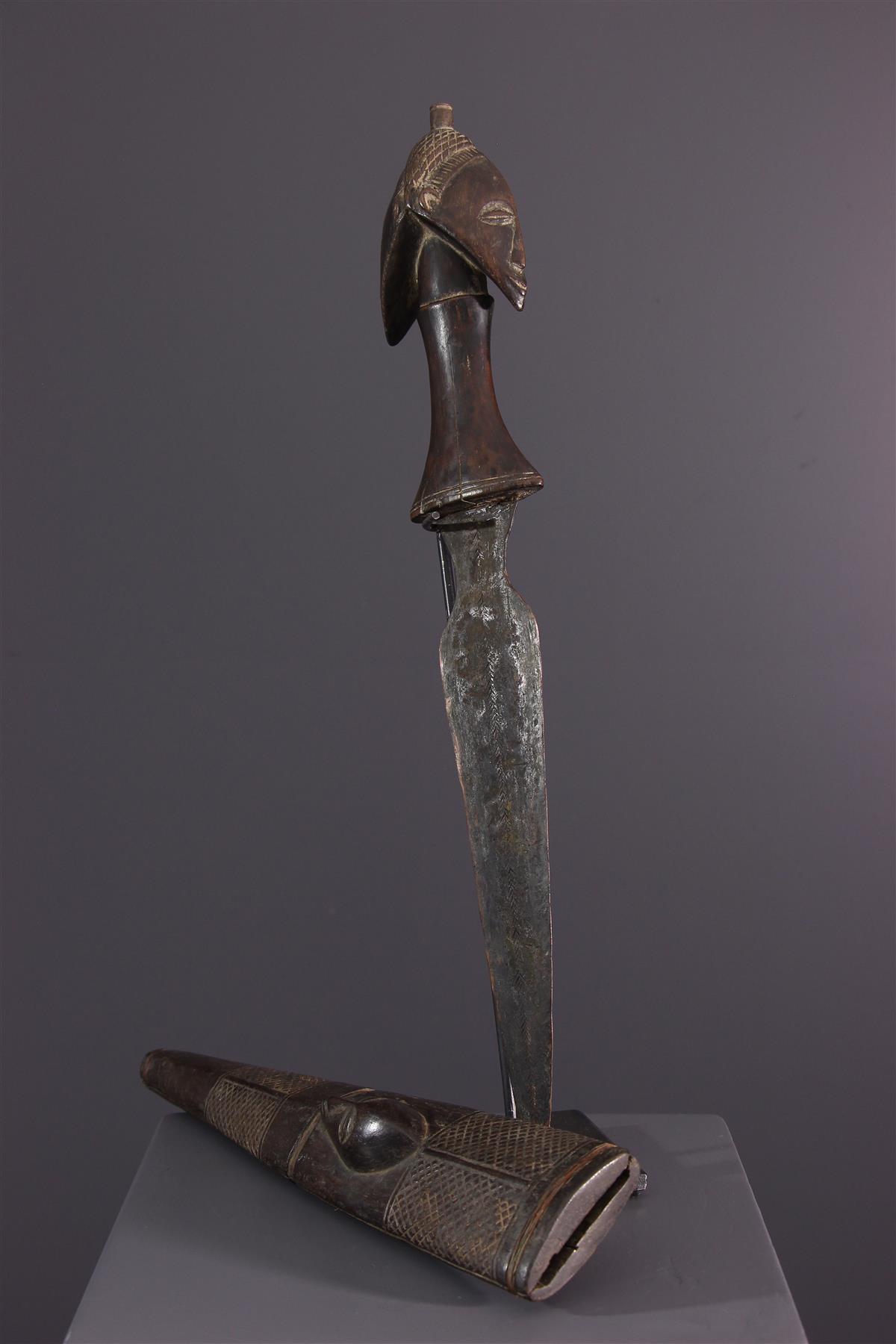 Hemba sword  - Tribal art