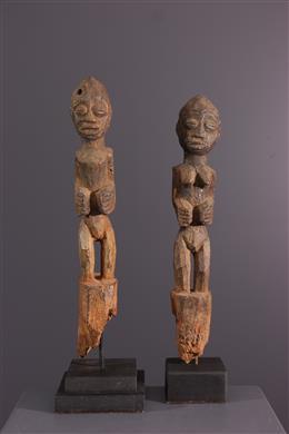 Couple of figures Boccio, Botchio, Fon