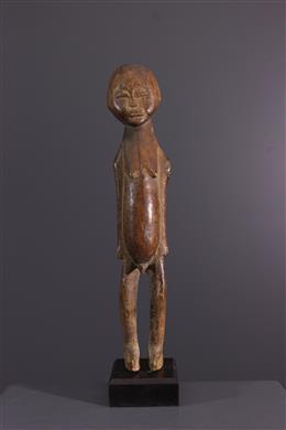 Tribal art - Lobi Bateba masculine figurines
