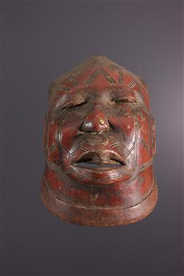 Tribal art - Makonde Lipoko Mask