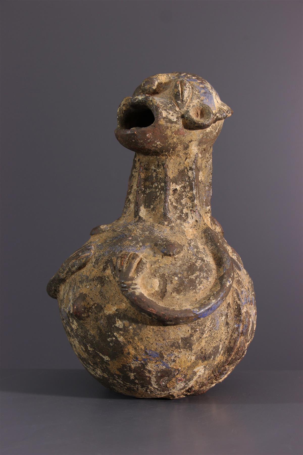 Mambila jar - Tribal art