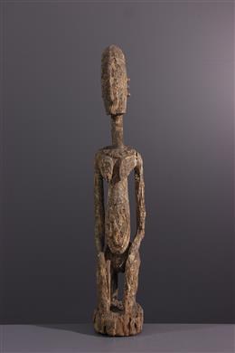 Tribal art - Kneeling Dogon female figure