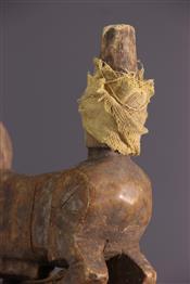 Masque africainDogon headdress