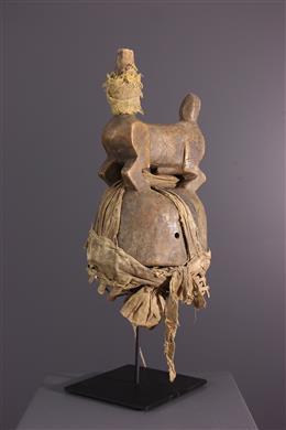Tribal art - Dogon crest mask