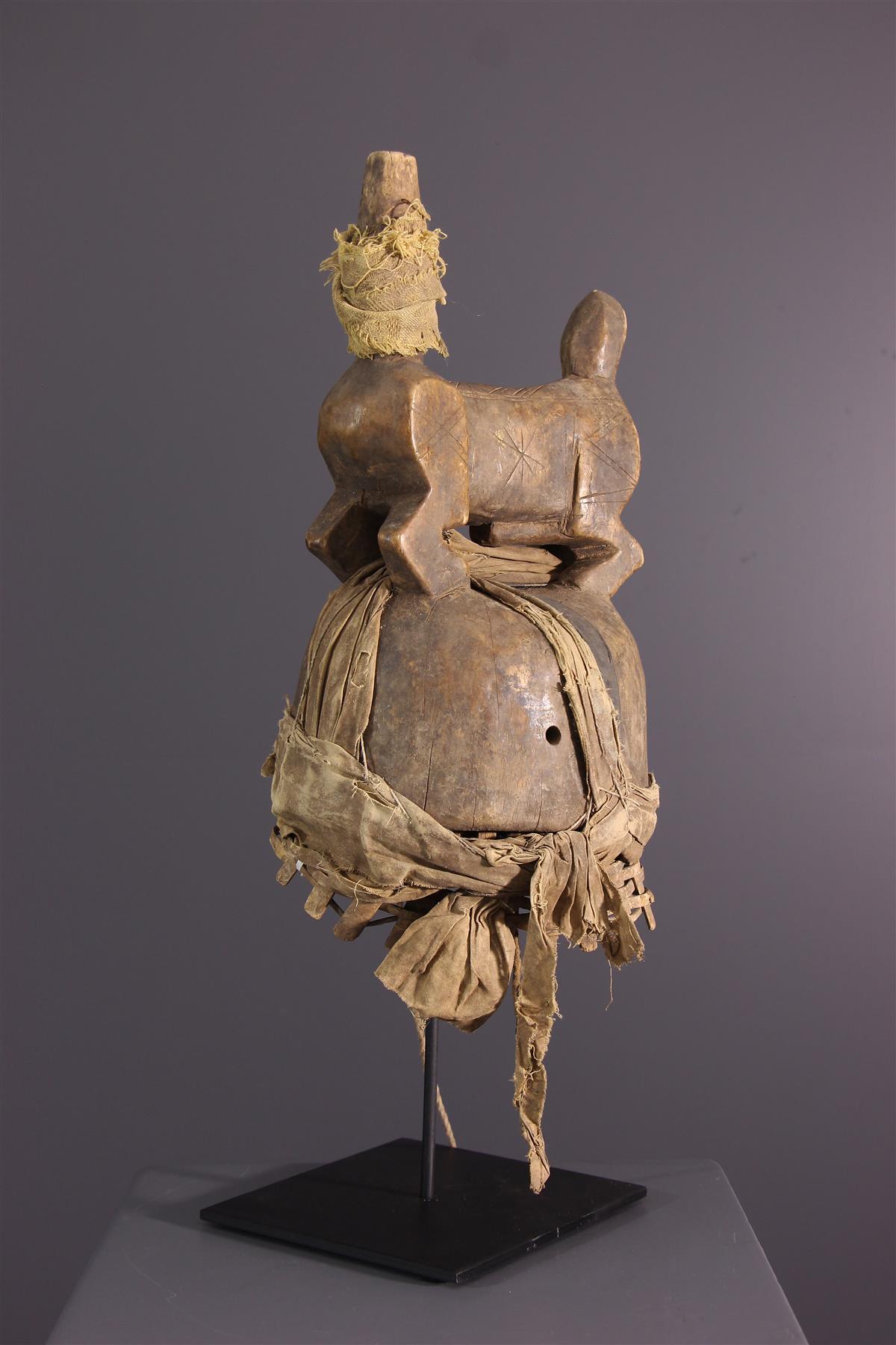 Dogon headdress - Tribal art
