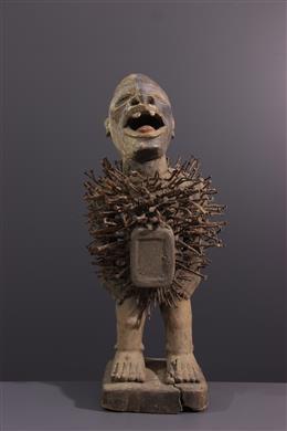 Tribal art - Statue Nkisi Nkondi Solongo / Woyo