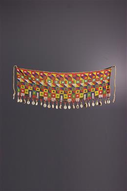 Tribal art - Kirdi beaded cover-up