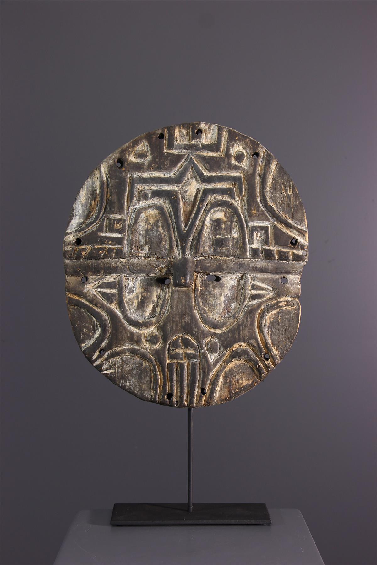 Teke mask - Tribal art