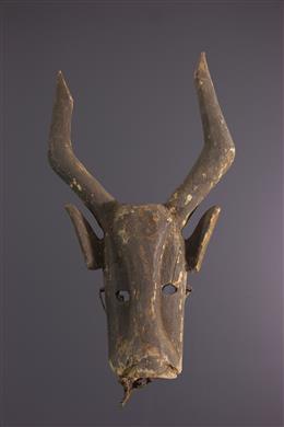 Tribal art - Dogon zoomorphic mask