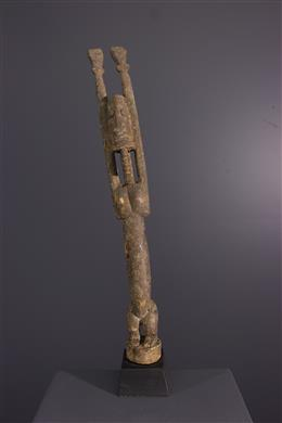Dogon male figure Tellem