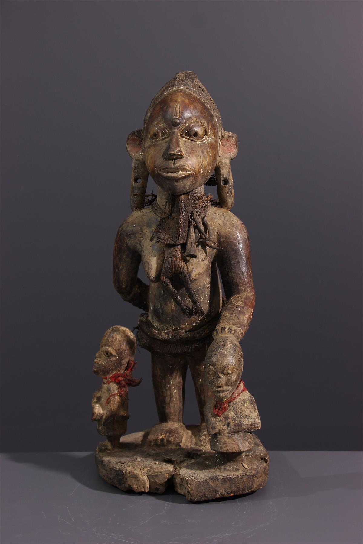 Yoruba Maternity - Tribal art