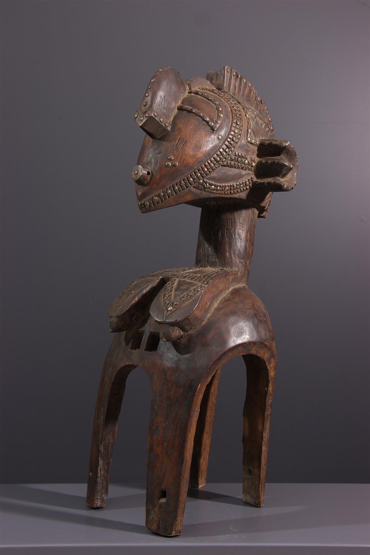 Baga mask - Tribal art