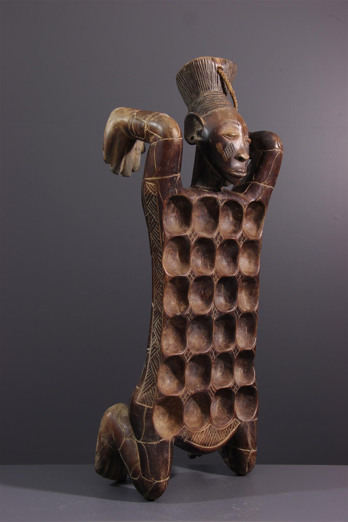 Mangbetu awale  - Tribal art