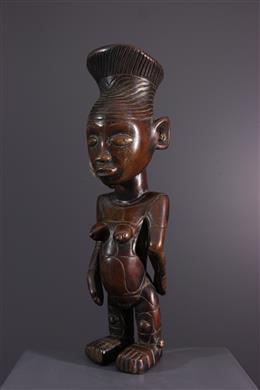 Tribal art - Female Mangbetu figure