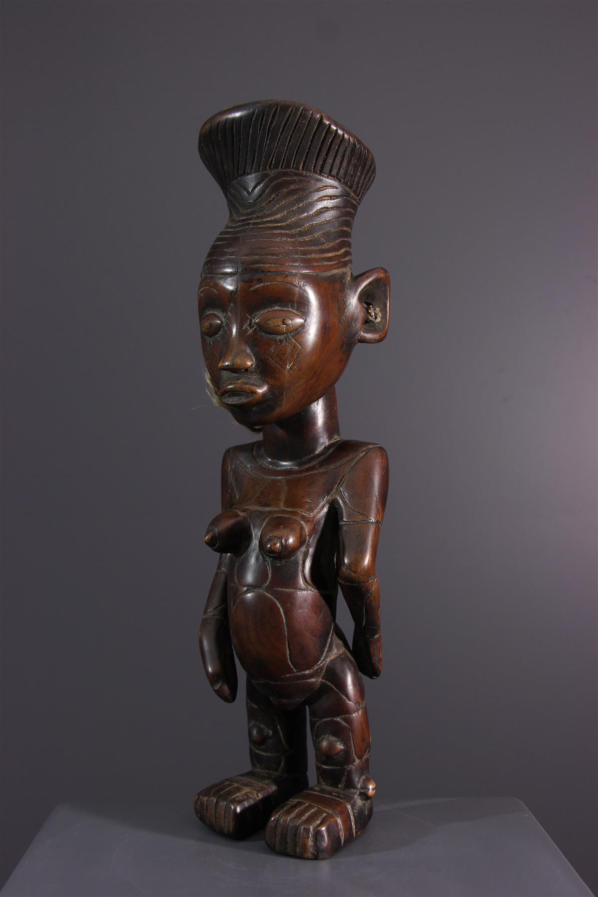 Mangbetu figure - Tribal art