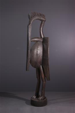 Tribal art - Hornbill figure of the Setien Senoufo