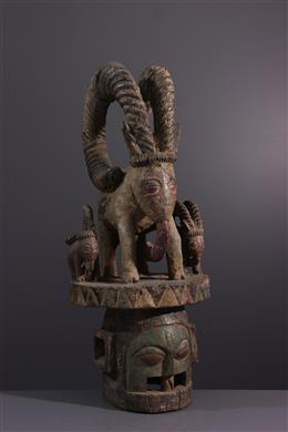 Tribal art - Epa Ekiti Yoruba mask