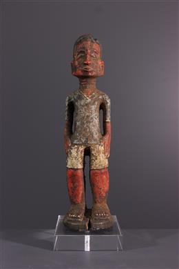 Tribal art - Baule Waka sona colon figure