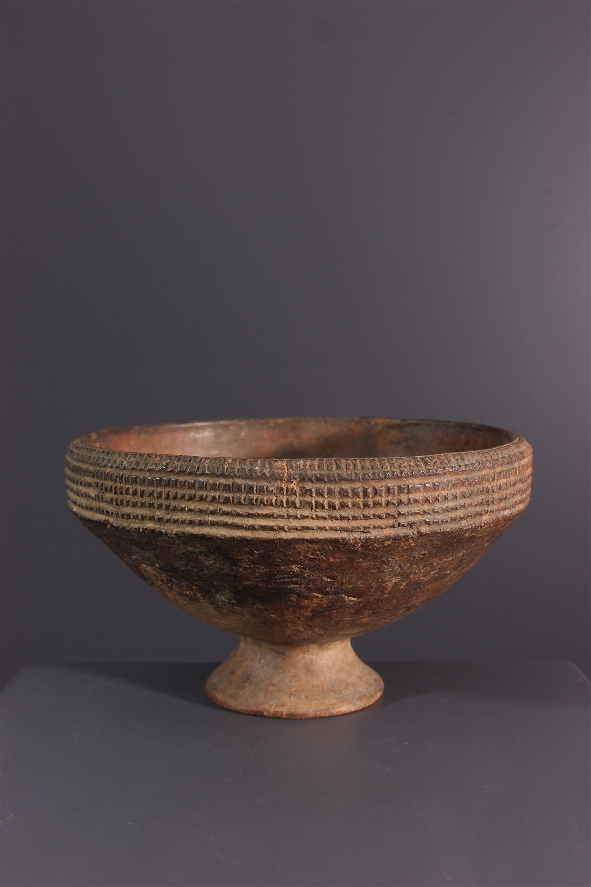 Funeral cup - Tribal art