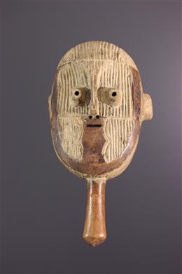 Metoko mask with handle