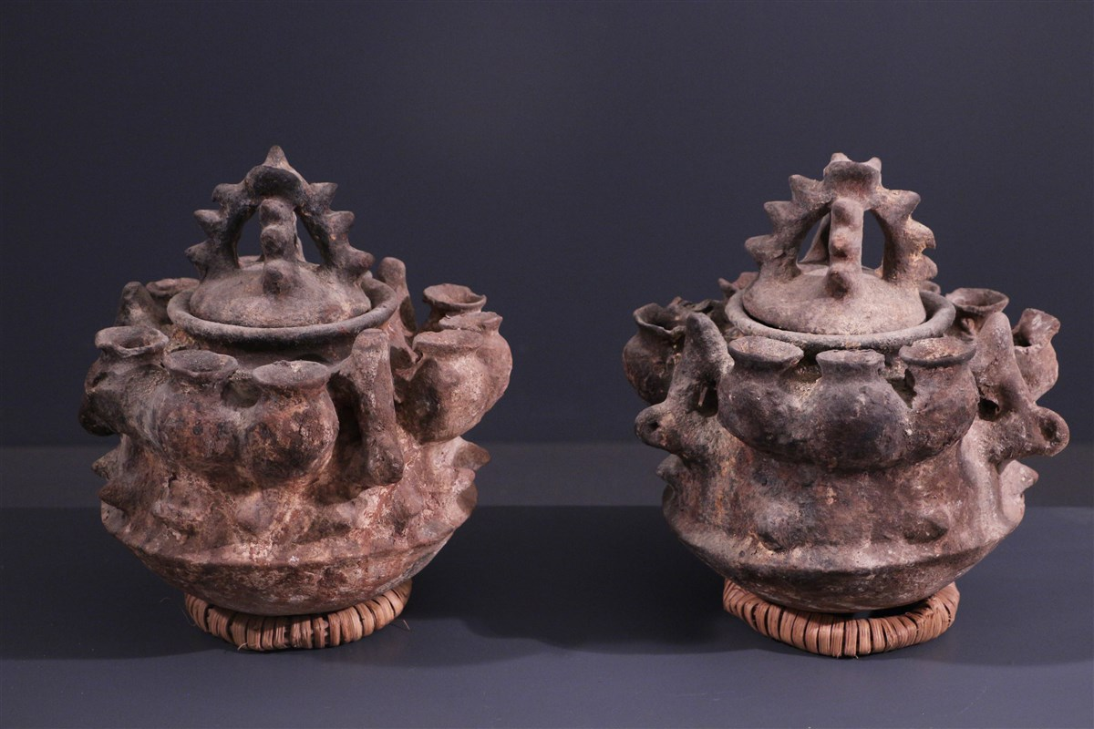 Fon Jar - Tribal art